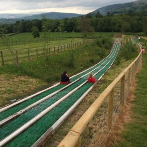 Europe's Longest Super Sledge Ride at Cantref